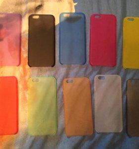 Новый тонкий чехол на iPhone 6/6s