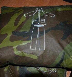 Маскировочный халат - дождевик