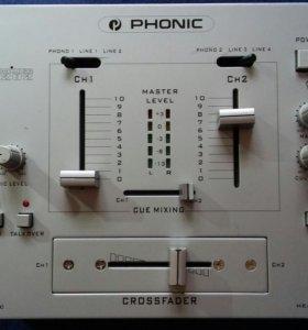 Dj микшер Phonic MX202