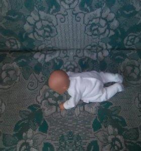 Кукла подвижная,новая,крутится,плачет,засыпает