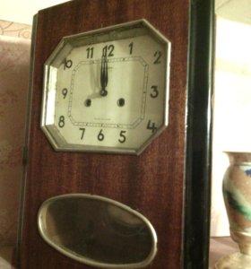 """часы """"янтарь"""" с боем"""