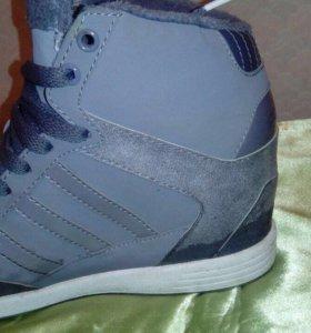 Кеды на платформе Adidas