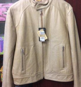 Новая мужская куртка из натуральной кожи