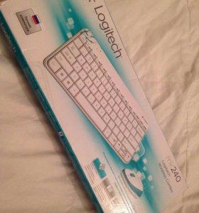 Logitech mk240 беспроводная клавиатура и мышь