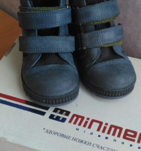 Ботиночки демисезонные minimen