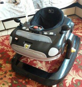 Ходунки ABC Design Mini Racer 5-в-1 B/B TCV-9053