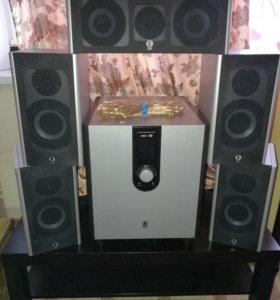 Ауди система ( SVEN audio )