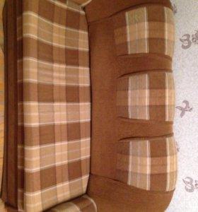Два дивана и кресло