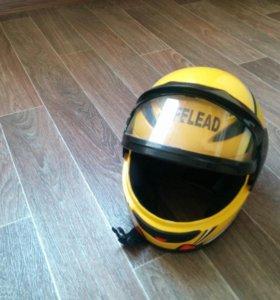 Шлем мото детский