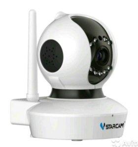 Видеонаблюдение, поворотная видеоняня, Vstarcam HD