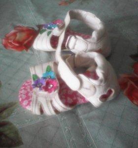 Сандалики 18 размер
