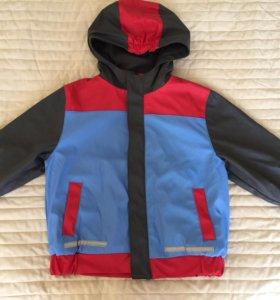 Резиновая курточка на флисе (92-98)