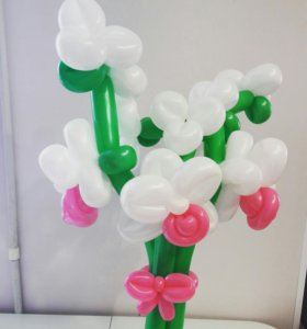 Орхидеи из шаров