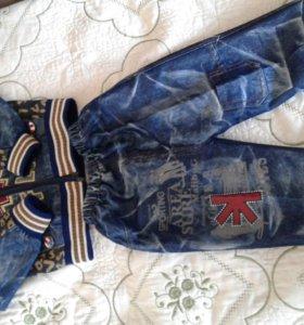 детский костюм джинсовый