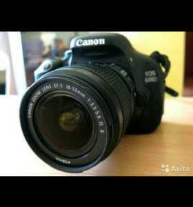Фотоаппарат Canon 600 D + 2 обьектива!