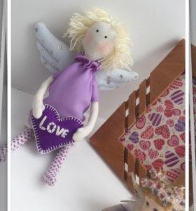 Текстильный ангелочек