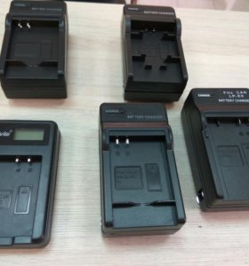 Зарядные устройства для аккумуляторов Canon