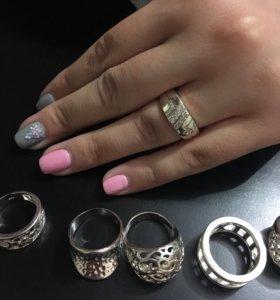 Новое кольцо 18 размер