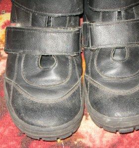 Ботинки 37 р. Кожаные