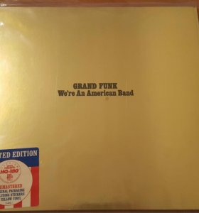 "Винил Grand Funk ""We're An American Band"" 180 gram"