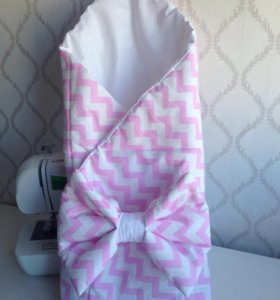 Новый конверт на выписку, одеяло-плед
