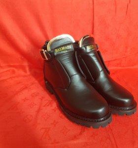 Ботинки с ремешками Balmain