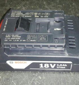 Аккумулятор BOSCH 18V - 1.5Ah Li-Ion