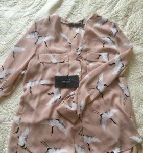 Новая блузка Zara m