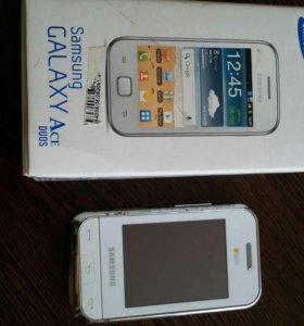 Телефон Samsung Galaxy ace Duos, Nokia Asha 202 Wh