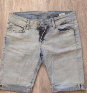 Бриджи джинсовые женские