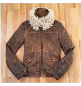 Куртка-коженка Zara