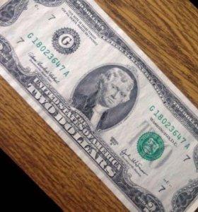 2 доллара США 2003 A