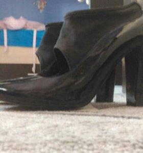 Туфли лаковые 40р.