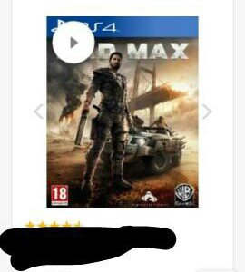 Mad Max для ps4 оригинал