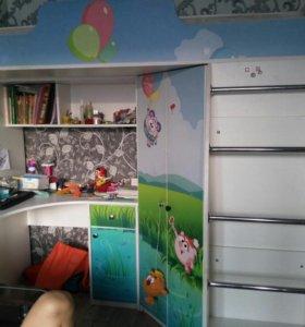 Детская шкаф-кровать