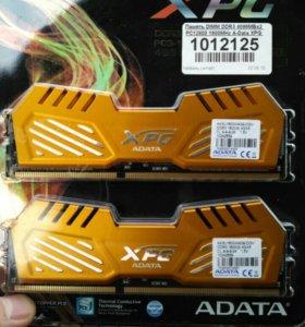 Оперативная память A-data XPG V2 DDR3 1600 2x4gb