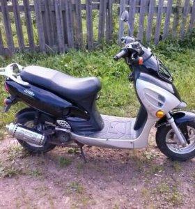 Скутер клевер 50