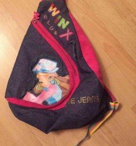 WINX, модный и вместительный рюкзачок