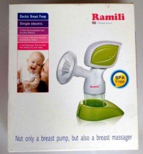 Молокоотсос электронный Ramili + бутылочки и еще..