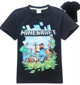 Minecraft футболка для мальчика