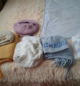 Комплекты шапка и шарф.