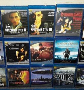 Blu-ray диски комплект 30 шт.