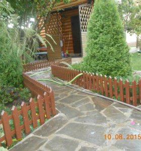 Заборчики садовые