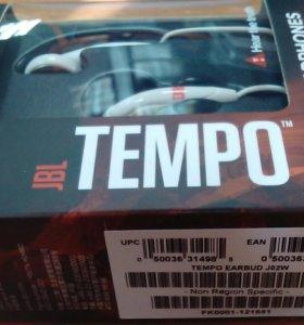 Наушники JBL tempo earbud 02w