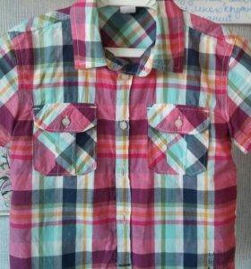 Рубашка 5-6лет