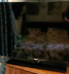 "Телевизор Филипс ЖК 40"",100Гц,DVB-T2,USB"