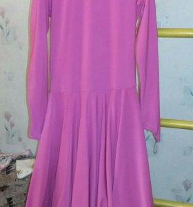 Платье для занятий бальными танцами
