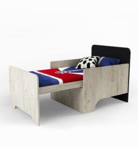 Новая кроватка раздвижная