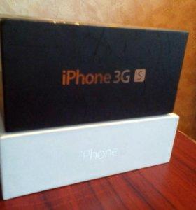 Коробки от iphone 5 и iphone 3GS