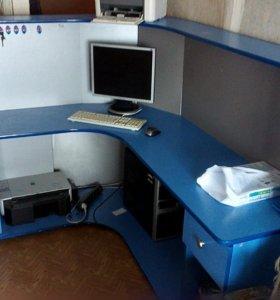 Стол для офиса (магазина) угловой.